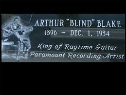 blind blake grave
