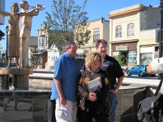 Dick Waterman, Angie Mack Reilly and Michael Hawkeye Herman