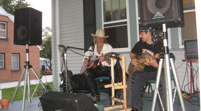 Blues Brings Japanese Musician and Researcher to Grafton WI in 2008