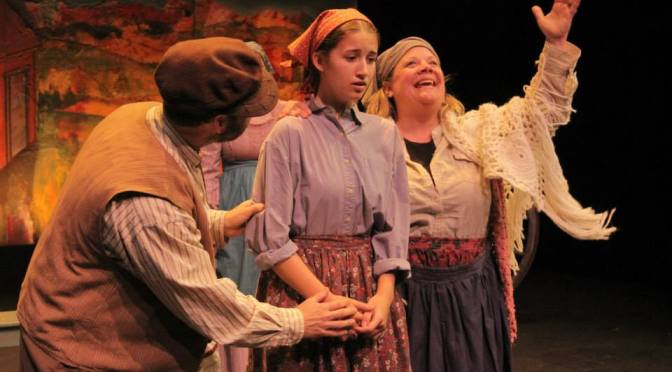 2014:  Angie Doubles as Golde and Musical Director for Fiddler on the Roof at Next Act Theater in Milwaukee