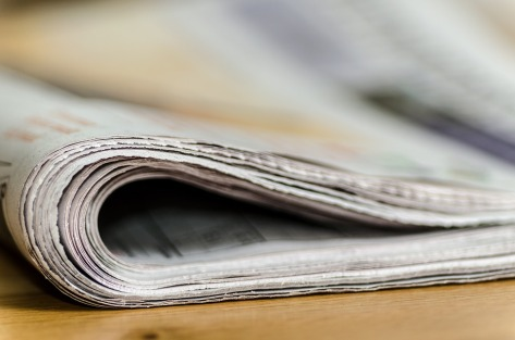 newspaper image from pixabay