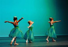 Three Little Dancers by Photographer Angie Mack Reilly