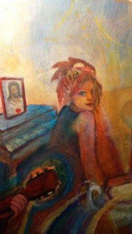 Angie at the Piano by Matthew Reilly