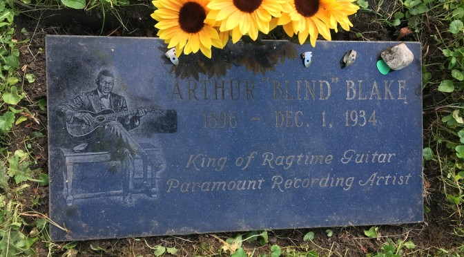 Flowers for Blind Blake's Grave from Detroit Michigan